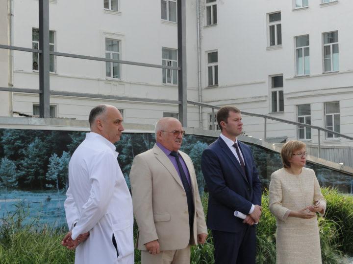 Визит полномочного представителя президента РФ по ЦФО И.О. Щёголева