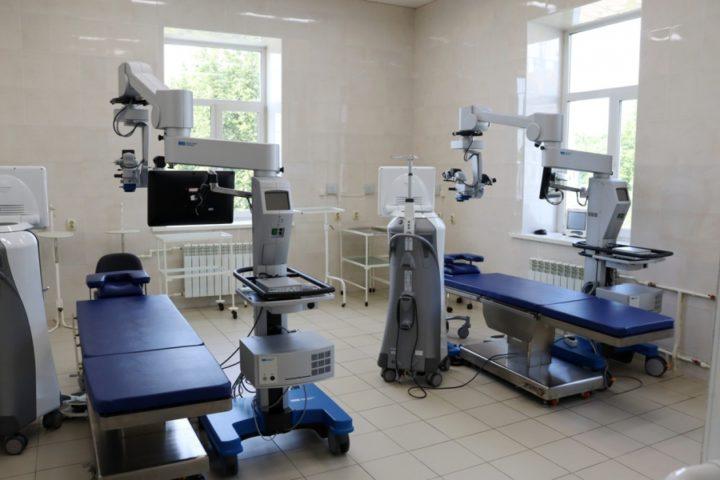 В Костромской областной больнице появилось новое офтальмологическое и урологическое оборудование